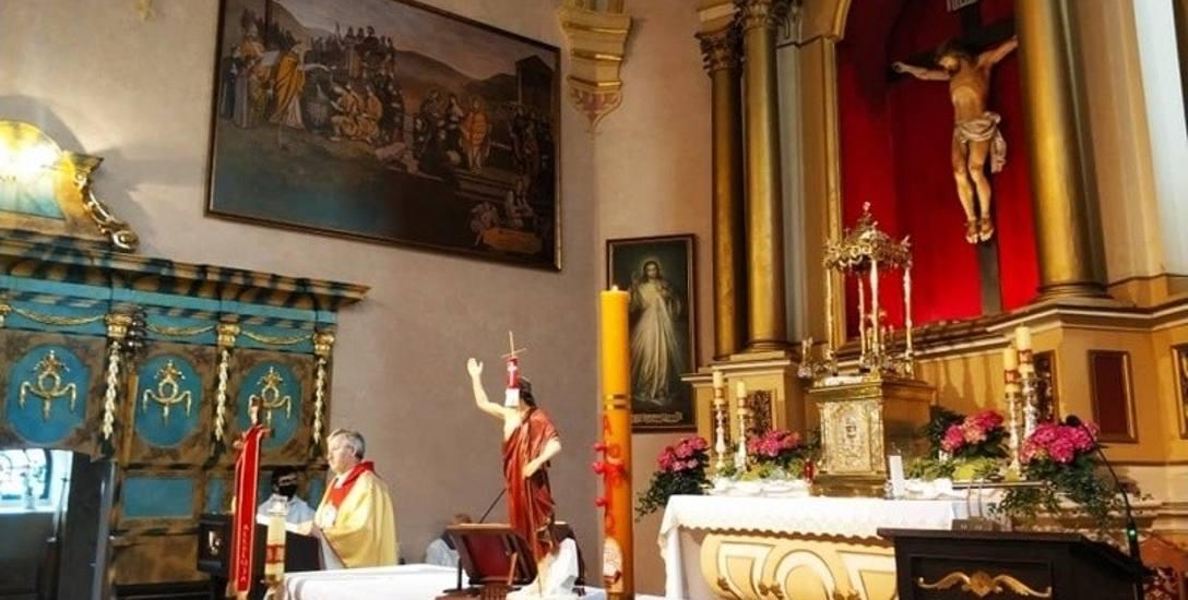 Ołtarz główny kościoła w Rzgowie będzie wyglądał jak przed wiekami