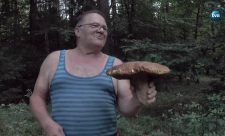 Prawdziwek gigant - waży ponad 2 kg i ma kapelusz o średnicy 35 cm