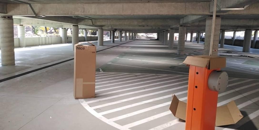 Nowy parking w centrum Jaworzna jesienią 2019. Niestety, nie będzie darmowy