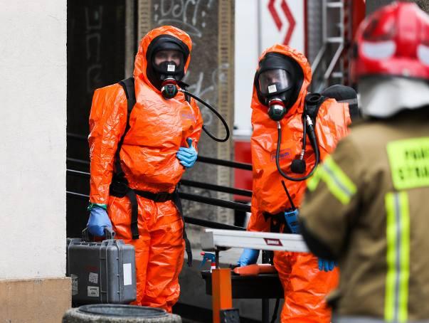 Kraków. Dziesiątki osób ewakuowanych z biurowca przy Rondzie Mogilskim. W jednej z kancelarii ktoś rozlał substancję chemiczną [24.02.2020]