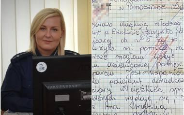 Żona alkoholika we wzruszającym liście dziękuje policjantce z Tomaszowa Lubelskiego za pomoc