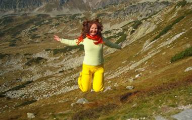 Agnieszka Siejka w górach
