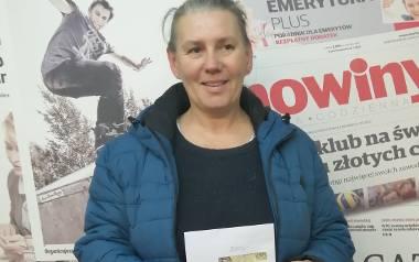 Bożena Miąsik - Kaszuba wygrała 2000 złotych