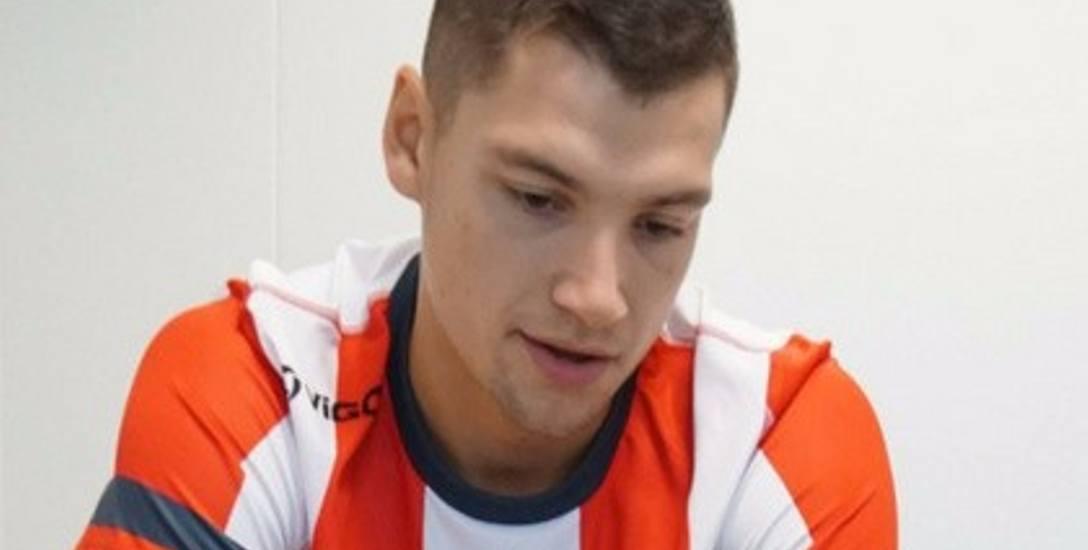 Nicolas Szerszeń ma 21 lat i chciałby zagrać kiedyś w reprezentacji Polski