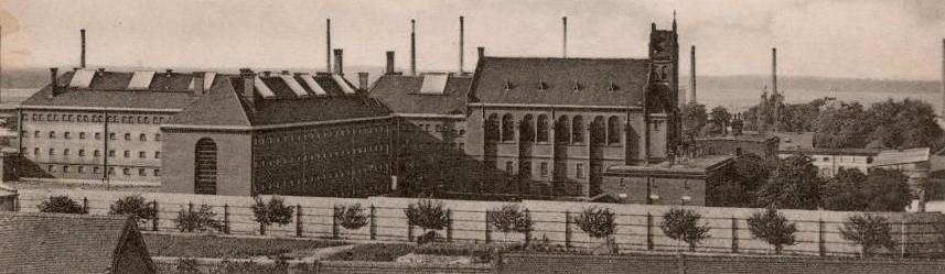 Więzienie w Strzelcach Opolskich, około 1916 roku