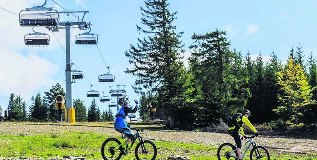 Górskie ścieżki rowerowe w Szczyrk Mountain Resort to jeden z pomysłów na weekendowy wypad