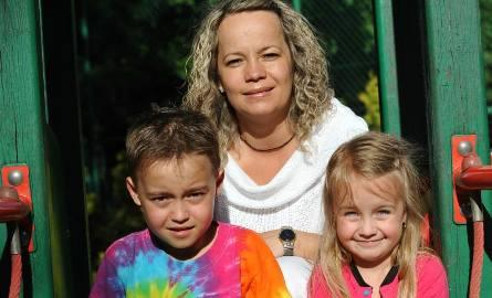 Małgorzata Barłowska, mama 9-letniego Igora i 6-letniej Poli