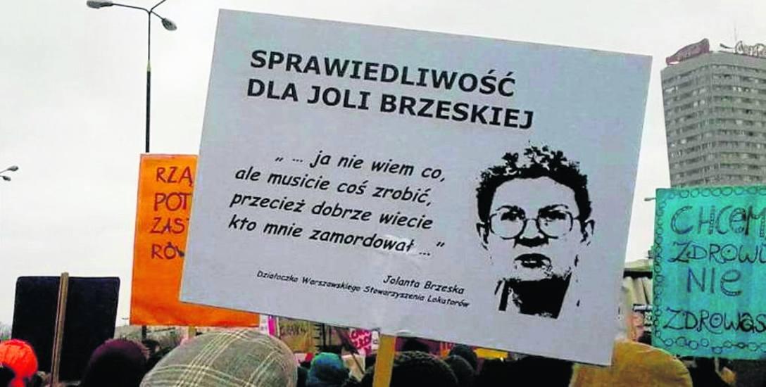 Błędy w sprawie śmierci Brzeskiej
