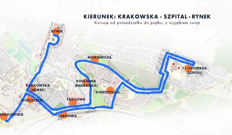 Film do artykułu: Staszowski PKS uruchomił dwa kursy miejskie. Jeden do szpitala i jeden na Golejów