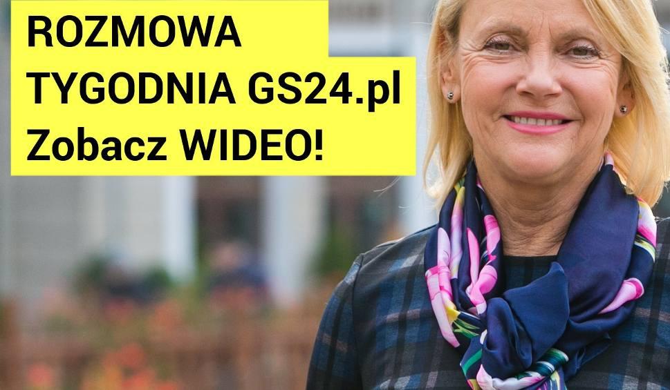 Film do artykułu: Małgorzata Jacyna-Witt: Nie będę marszałkiem [Rozmowa tygodnia Gs24.pl, WIDEO]