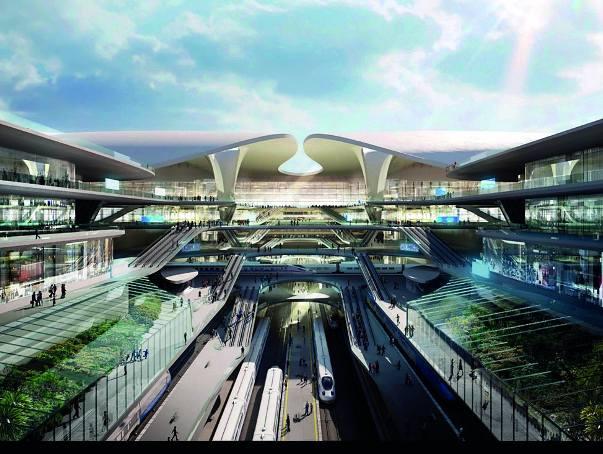 Koncepcja autorstwa pracowni Zaha Hadid Architects