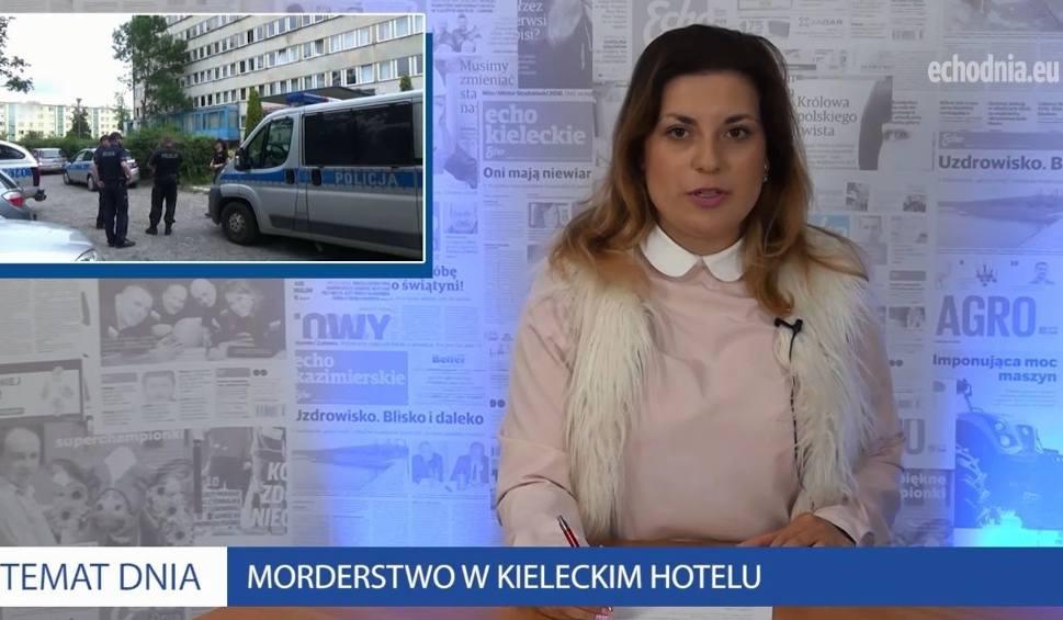 Film do artykułu: Szokująca próba morderstwa w kieleckim hotelu! ZOBACZ WIADOMOŚCI