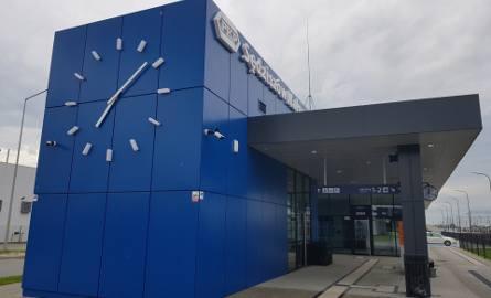 Zmodernizowany dworzec PKP w Sędziszowie Małopolskim.