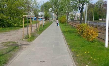Nowa ścieżka rowerowa