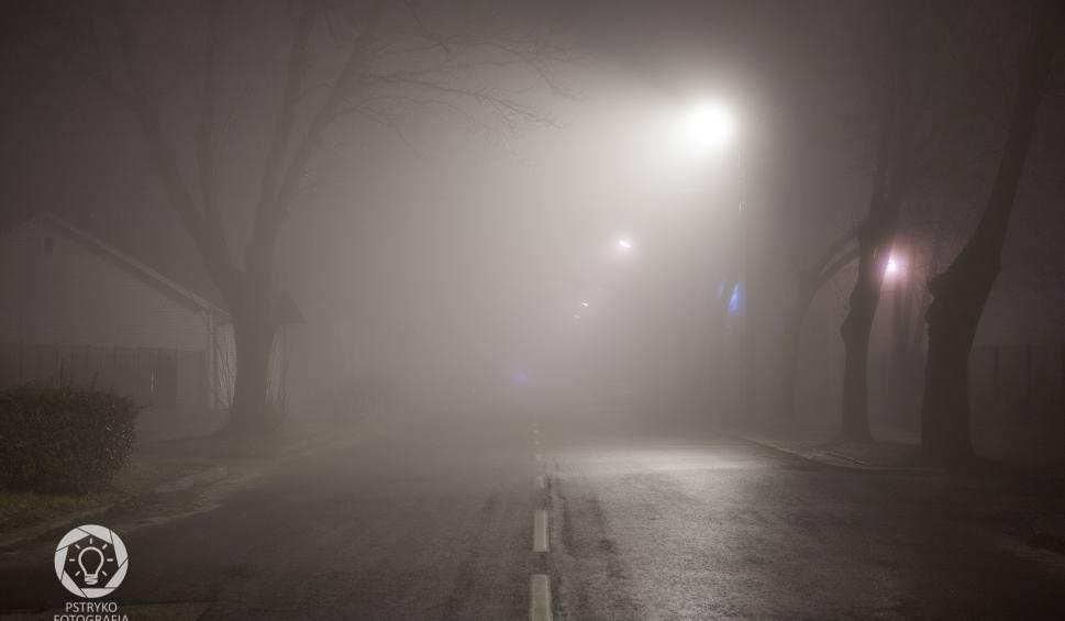Film do artykułu: Uwaga kierowcy! Gęsta mgła nad regionem świętokrzyskim