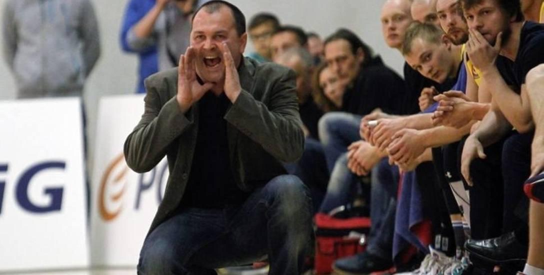Dariusz Kaszowski, trener koszykarzy Sokoła Łańcut po porażce z KK Warszawa: Jest się czego wstydzić