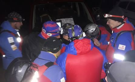 Mężczyzna wyszedł z domu 17 listopada, nad ranem. 40 ratowników GOPR, strażacy OSP z Lubatowa, Lubatówki, Iwonicza, Iwonicza-Zdroju, Policjanci z dronem