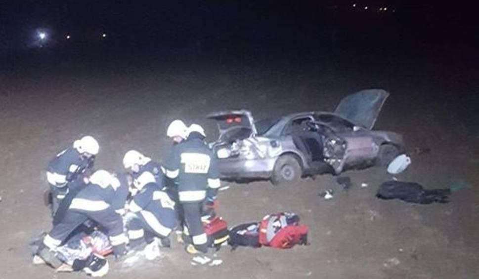 Film do artykułu: Nieznanowice. Wypadek na drodze 967. Dwie osoby w szpitalu
