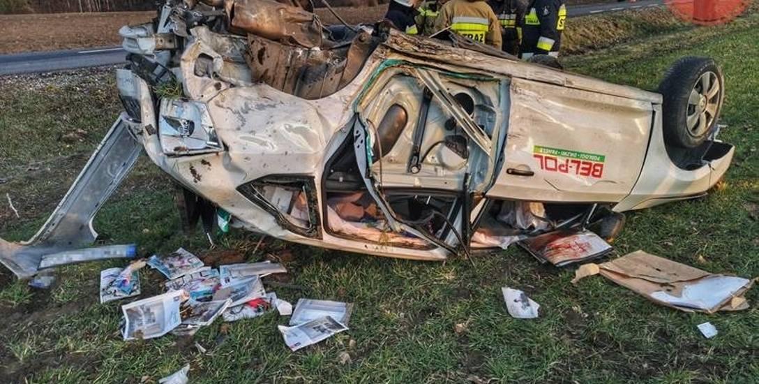 Wstępne ustalenia łowickiej policji wskazują na to, że kierowca skody miał pierwszeństwo przejazdu