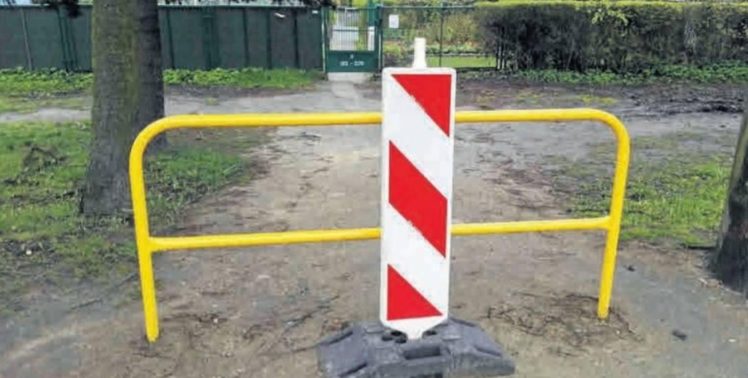Jak tłumaczy dyrektor Zarządu Infrastruktury Miejskiej, działkowcy, dojeżdżając na ogródki samochodami, niszczyli chodnik i stwarzali niebezpieczeństwo