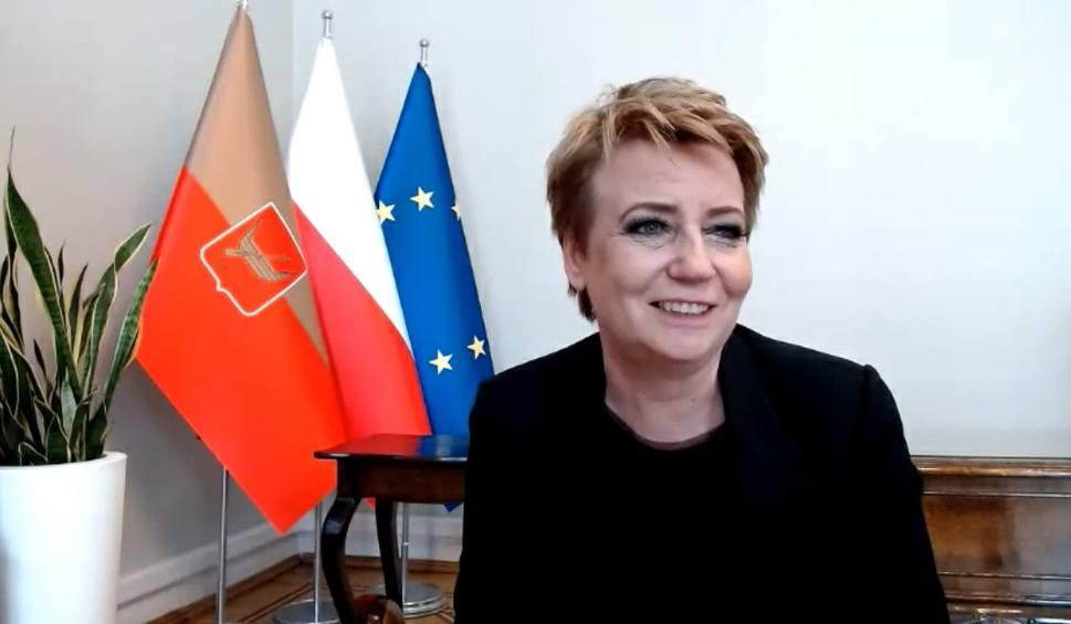 Film do artykułu: Rozmowa z prezydent Łodzi o działaniach miasta  w czasie pandemii [VIDEO]