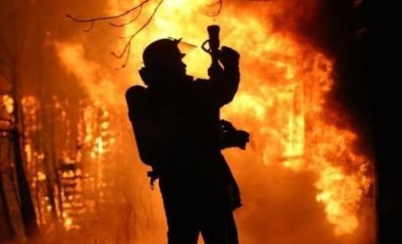 Będzin: Pożar na ulicy Wilczej. Nie żyje kobieta