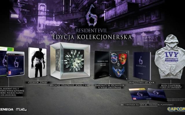 Resident Evil 6: Edycja kolekcjonerska za 599 złotych