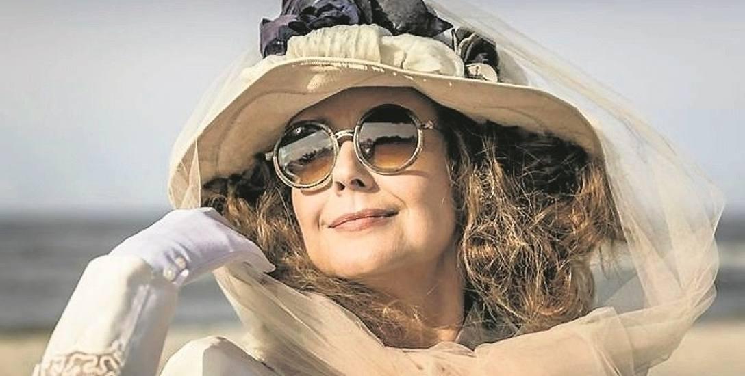 """W rolę arystokratki Gerdy von Krauss w filmie """"Kamerdyner"""" wciela się aktorka Starego Teatru w Krakowie - Anna Radwan"""