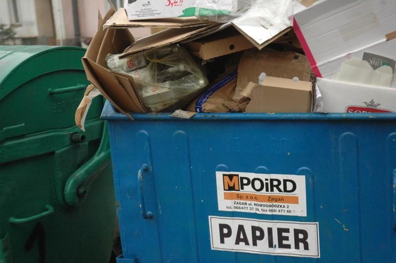 Śmieci papierowe