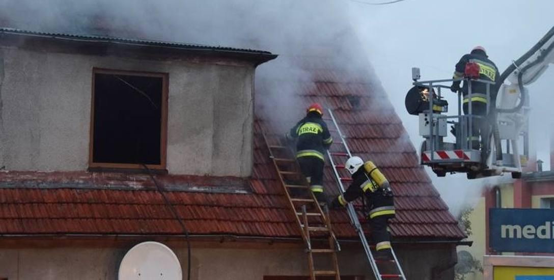 Wielka tragedia w Miastku. W pożarze zginęło dwóch mężczyzn. Co było przyczyną?
