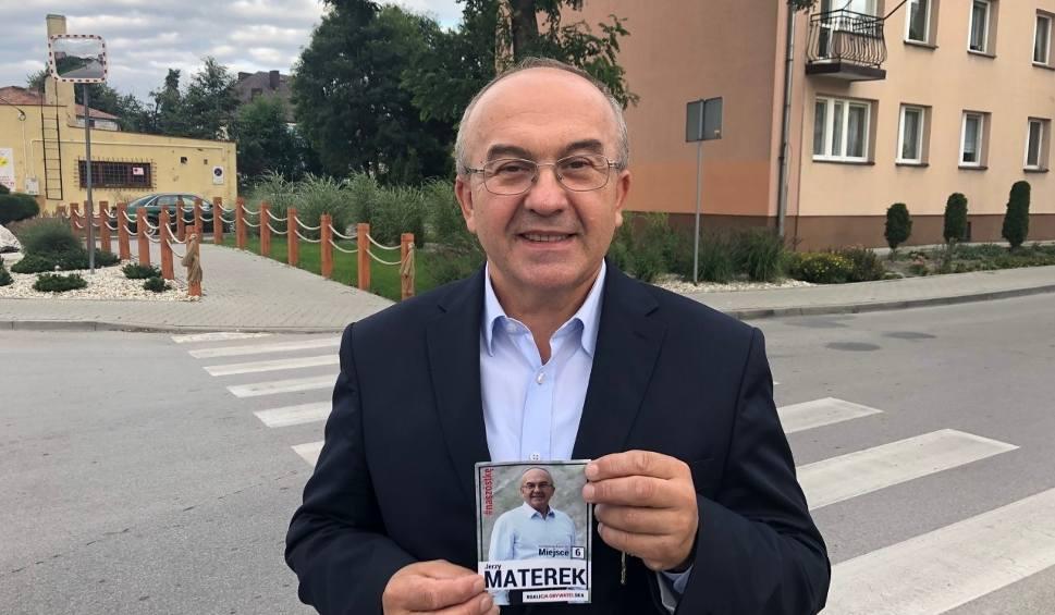 Film do artykułu: Jerzy Materek, kandydat Koalicji Obywatelskiej z kampanią we Włoszczowie. Związki z powiatem i ochrona środowiska