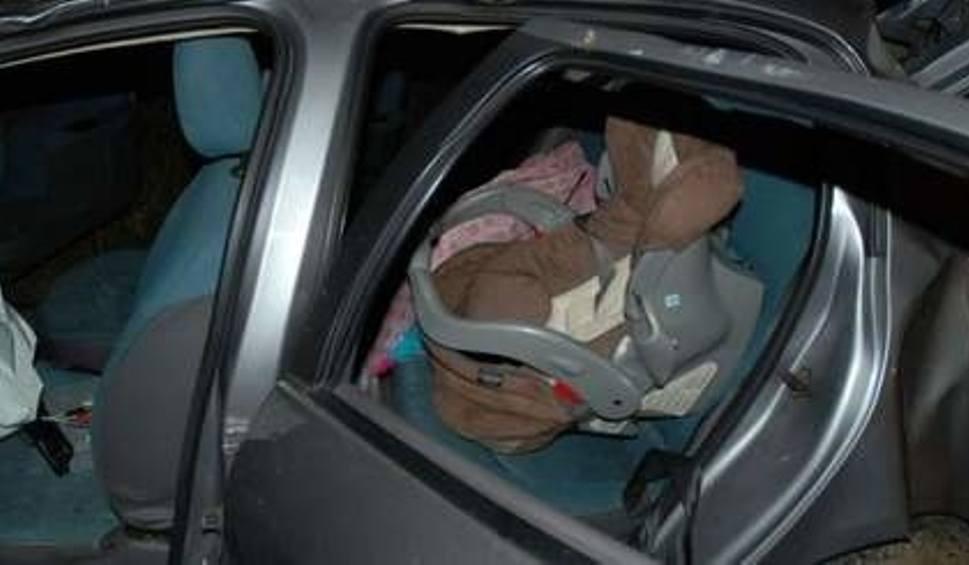 Znalezione obrazy dla zapytania fotelik dziecka wypadki