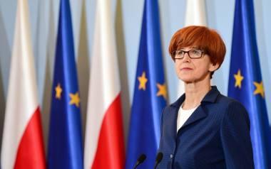 Elżbieta Rafalska: Nie ma danych, które wskazują, że jedynym powodem dezaktywizacji kobiet jest 500 plus