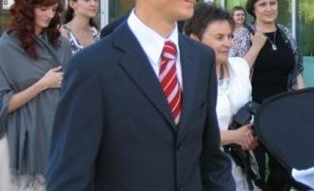 Na ślub Andresa Kuettela przyjechał Simon Amman.