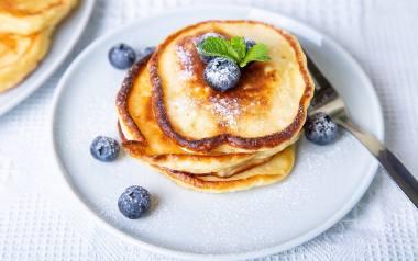 Pancakes z serka homogenizowanego.