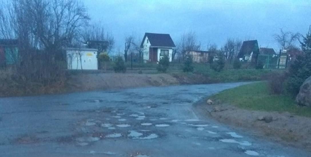 - Tak wygląda ulica w pobliżu ul. Srebrnej - napisała do nas pani Anita i przesłała zdjęcie ul. Koralowej. Jak nas informuje gorzowianka, warunki na