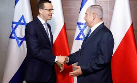 Premierzy Polski i Izraela spotkali się w ub. tygodniu. Potem padły słowa Netanjahu