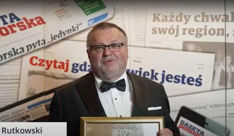 Film do artykułu: Jacek Rutkowski z firmy Mat-Bud o przyznanym wyróżnieniu podczas 25. Złotej Setki Pomorza i Kujaw [wideo]