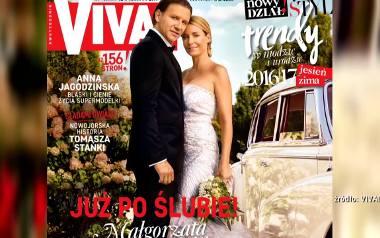Suknie ślubne Małgorzaty Rozenek zostaną zlicytowane na aukcji charytatywnej [WIDEO]