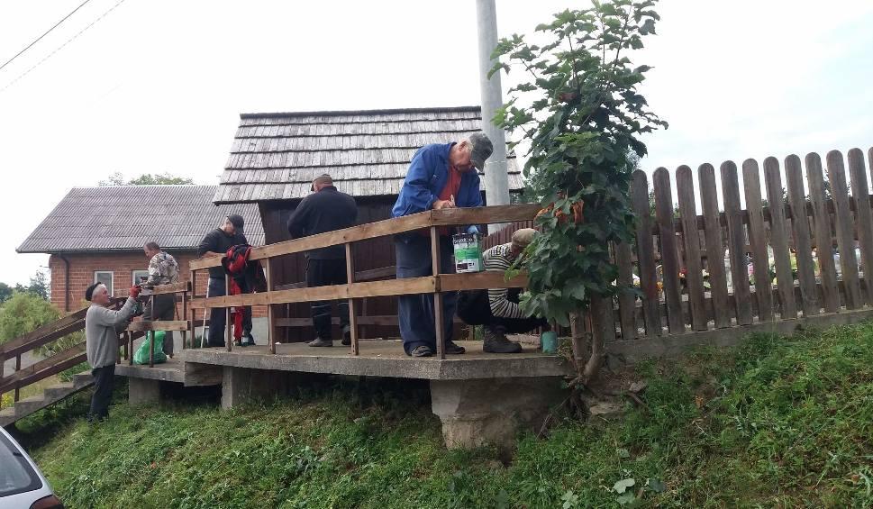 Film do artykułu: Mieszkańcy Kakonina odnowili miejscową kapliczkę