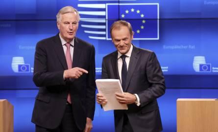Michel Barnier i Donald Tusk
