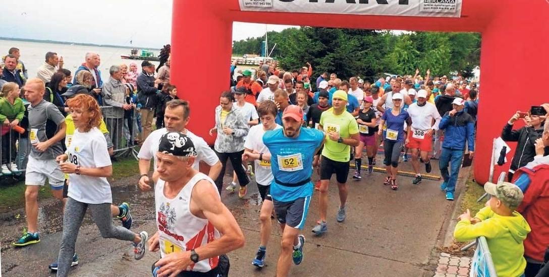 Na brak zainteresowania imprezami biegowymi w regionie narzekać nie można