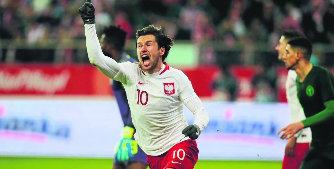 Grzegorz Krychowiak w meczu z Nigerią był bardzo aktywny, miał kilka ciekawych zagrań i strat