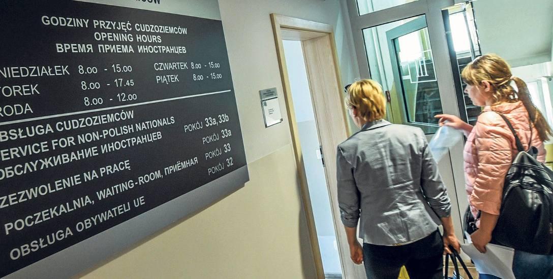 W Kujawsko-Pomorskiem obsługa obcokrajowców przebiega sprawniej, niż gdzie indziej, ale rozpowszechnienie tej informacji może spowodować niekontrolowany