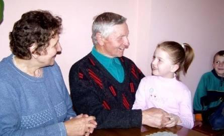 - Najbardziej kocham babcię i dziadka - podkreśla Diana