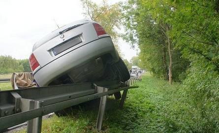 Wypadek w Proniewiczach. 65-latek zginął na miejscu [FOTO]
