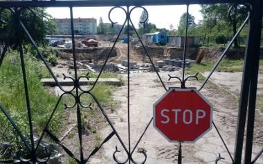 Jedna z inwestycji mieszkaniowych w mieście: przy ul. Ogrodowej, na terenie dawnej bocznicy kolejowej