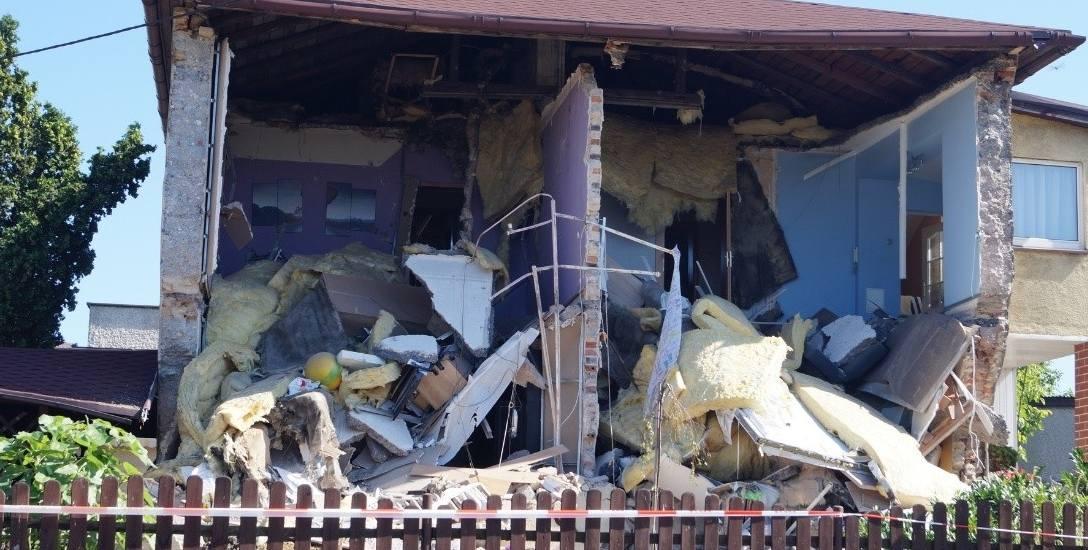 W Dębieńsku zawalił się dom