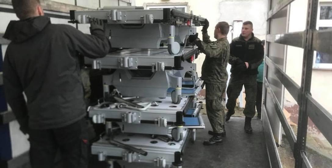 Do szpitala w Krośnie Odrzańskim dostarczono 64 specjalistyczne łóżka, podarowane przez holenderską lecznicę. Do Krosna ma dotrzeć kolejna dostawa sprzętu