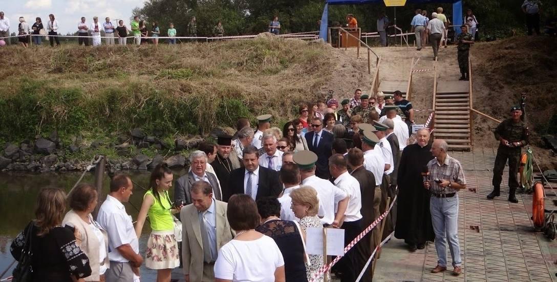 Most pontonowy na Bugu - to znak rozpoznawczy Europejskich Dni Dobrosąsiedztwa. Organizatorzy oczekują wsparcia